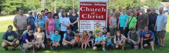 Wood Avenue Church of Christ Group 2014