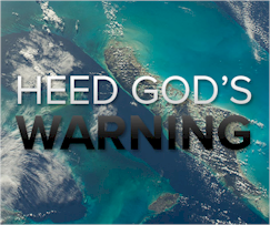 Heed the warning that God provides in His Word. Your life will soon be gone and you don't know when. Will you face the judgment unprepared to meet your God?