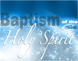 Some in the modern religious world believe baptism in the Holy Spirit is what saves a person from sin.  Is this Biblical? What does the Bible say?