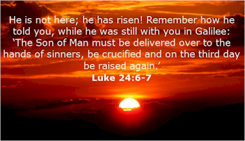 Three days can be significant. The most significant event that occurred over three days is Jesus' resurrection. He rose in three days and conquered death.
