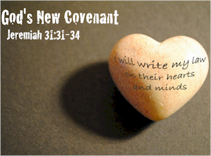 God made a new covenant to be written in the mind and heart. He desires to be our God and have us as His people. We need to accept His new covenant.